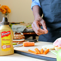 French's mustard man cooking UGC Foap